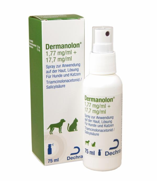 Dermanolon 1,77 mg/ml + 17,7 mg/ml
