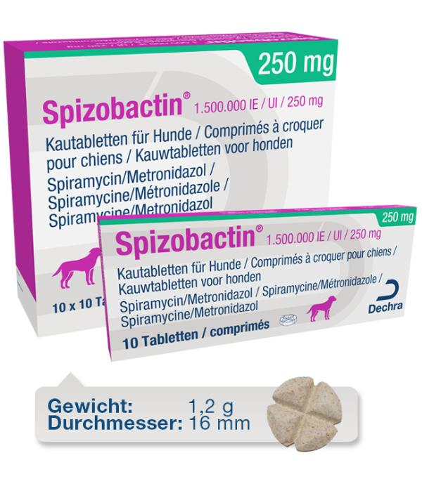 Spizobactin 1.500.000 IE / UI / 250 mg